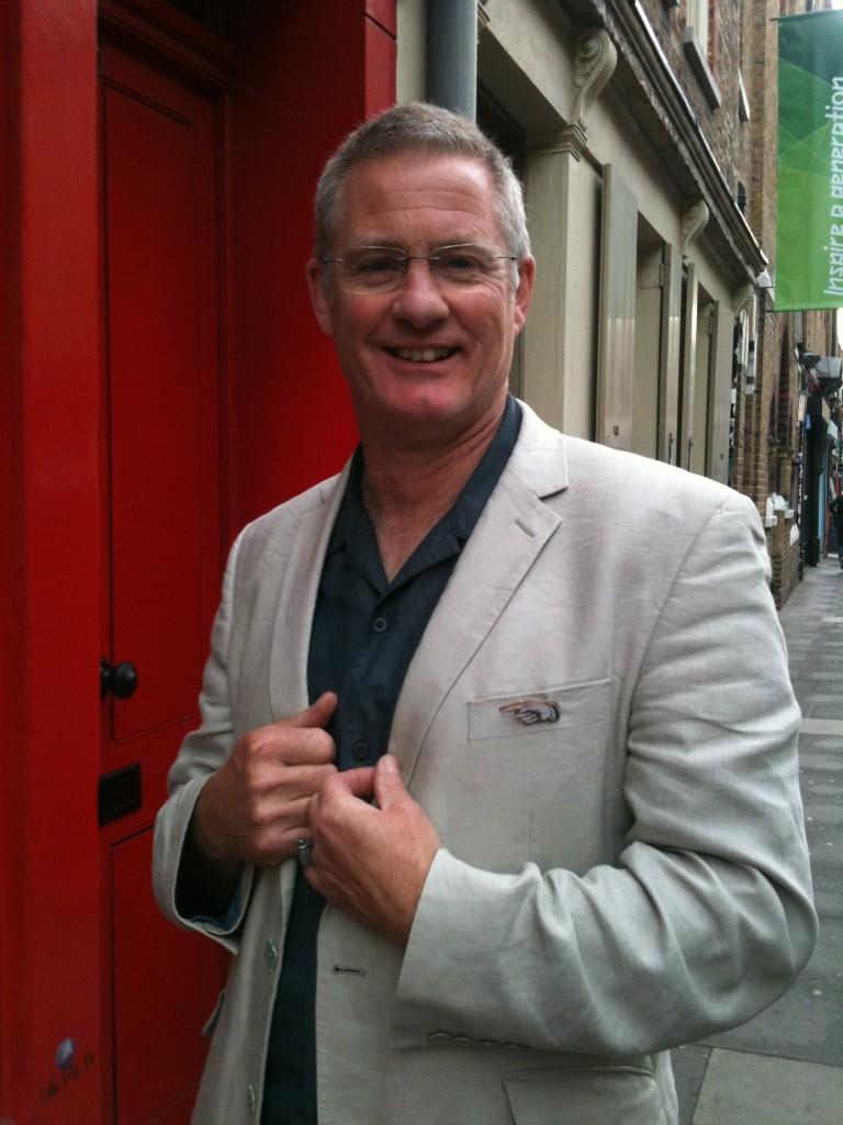 Martin Chandler Smiling